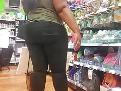 Thick Ebony BBW Black Jeans.