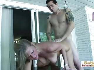 Preview 5 of Dirty mom tries out not her daughter's boyfriend's cock