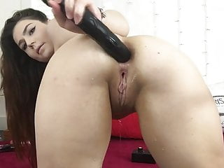 Huge BBC Dildo 24 Inches Deep Anal