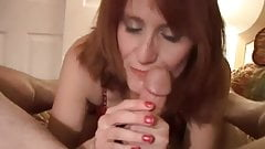 Kinky old redhead is so horny she fucks the cameraman's Thumb