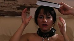 Pretty Brunette Humiliated And Electro Tortured.