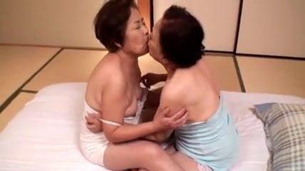 Asian lesbian granny