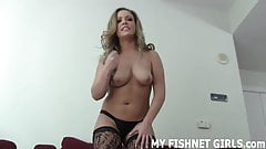 These fishnets make me want to play with my pussy JOI