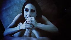 VAMPIRE SEX  - hardcore porn music video goth POV blowjob