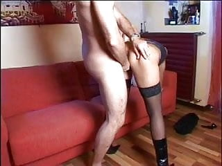 Busty blond nympho gets a long hard cock to stroke, deepthroat and fucking