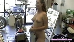 Nicole aniston blonde big booty oiled up fuck in pov sex