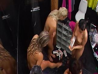 Big Brother Finland Girls Shower