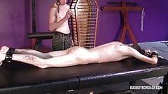 BadBoyBondage - Helpless young twink sucks cock BDSM torment