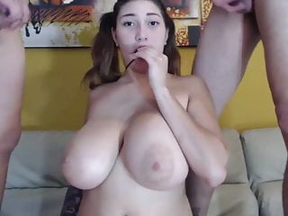 Very Busty Latina Teen Does Hardcore