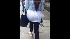British Pakistani Sexy Ass Juicy Booty Candid