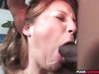 Hotwife Aurora Snow banging with two black bulls