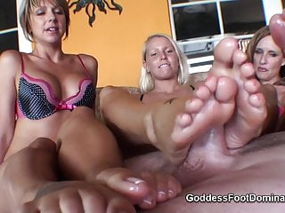 Mother Not Her Daughter Footjob