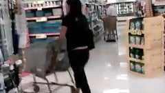 Sdruws2 - Panty thong at the supermarket