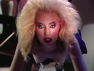 CAT WOMAN - vintage 80's slim blonde hardcore pmv