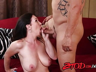 Busty Cougar Boss loves her employees dick!