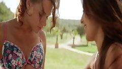 Erotic Lesbian Love On Display