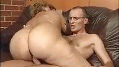 Gros cul noir équitation noir Dick