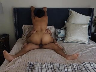 Asian Milf Riding Cock