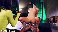 Abella Danger SQUIRTS B4 Crazy Ass Fuck with Joanna & Juan!