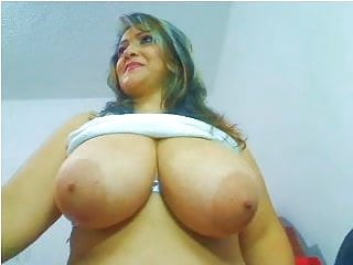 Webcams 2014 - Colombian MILF w HUGE TITS 2