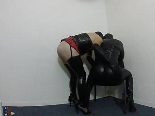 Preview 2 of Crossdresser spanking sub CD
