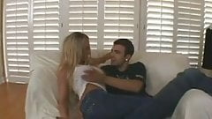 Leah moore dped milf gulps a mouthful
