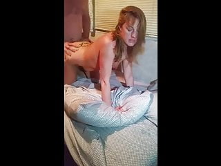 Cuckold Blonde GF with Back Tattoo