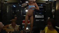 Miss Howard Stern on Bus
