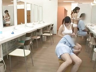 Azusa Nagasawa in Sauna Lady Occupation Part 4