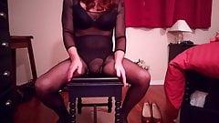 SL4UA Holly Leg and Pantyhose Tease Pt4