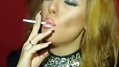 Latex Redhead Smoking On Cam