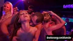 Bisexual slags fucking in public