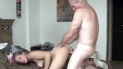 Old man creampies cutie