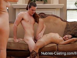 Nubiles Casting Teen Cutie Tries Hardcore Porn