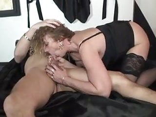 Sophie 50 years old fucked in stockings