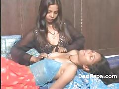 Indian Young Lesbian Girls Touching Each Other