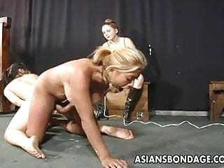 Preview 1 of Lesbian bdsm action with a hot Asian chick