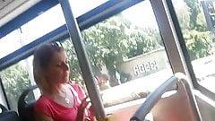 Upskirt bus BG's Thumb