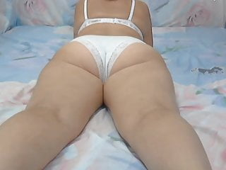 mommy ass in white panties
