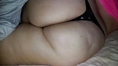 Thick Ass in a small thong