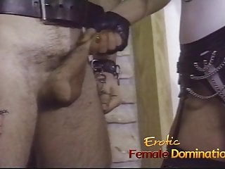 Preview 5 of Three horny sluts have their feet and pussies licked by two