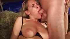 Isabella drinik piss straight from cock.