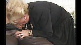 Granny suck and fuck