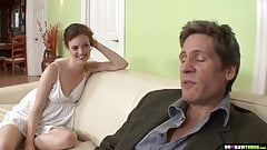 Stepdaughter Fucking Her Stepdad For The Car
