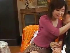 AYAKO SATONAKA MILF invites in the ass