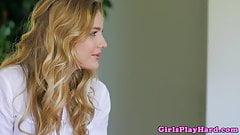 Feetlovin lesbian babe filmed