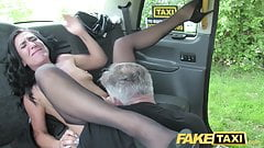 Fake Taxi Sex mad MILF loves t