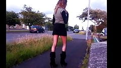 midnightminx xxx out takes public stripping flashing