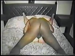 Wife enjoying being pounded by a bbc 90's.