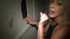 Gloryhole super premature ejaculation